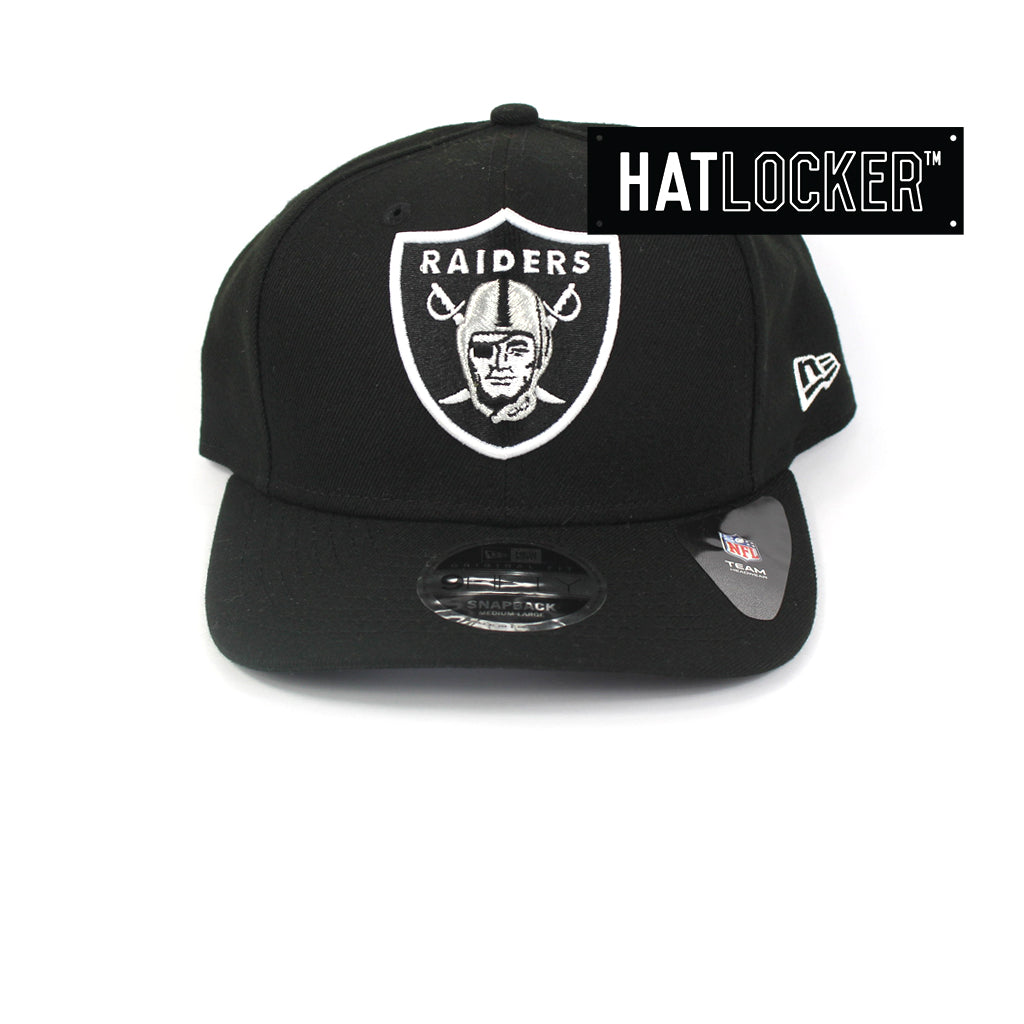 e13b74f6 New Era | Official NFL Oakland Raiders 2 Tone Precurved Snapback Hat ...