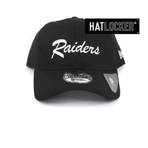 New Era NWA Oakland Raiders Script Curved Brim