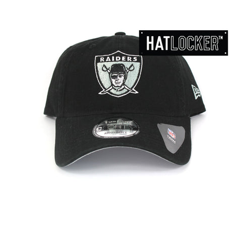 New Era Oakland Raiders Throwback Curved Brim Hat