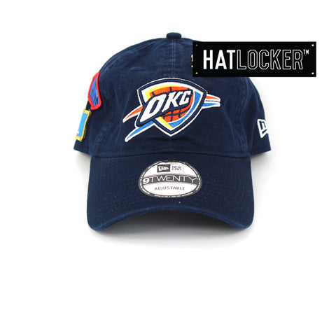 New Era Oklahoma City Thunder 2018 NBA Draft Curved Brim Cap