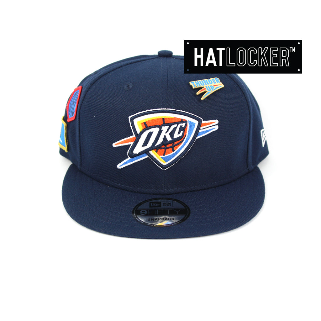 super popular 66886 4d804 ... store new era oklahoma city thunder 2018 nba draft snapback hat 1da3f  cdc8f