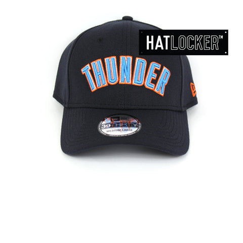 New Era Oklahoma City Thunder Type Hype Curved Brim Cap