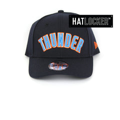 New Era Oklahoma City Thunder Type Hype Youth Curved Brim