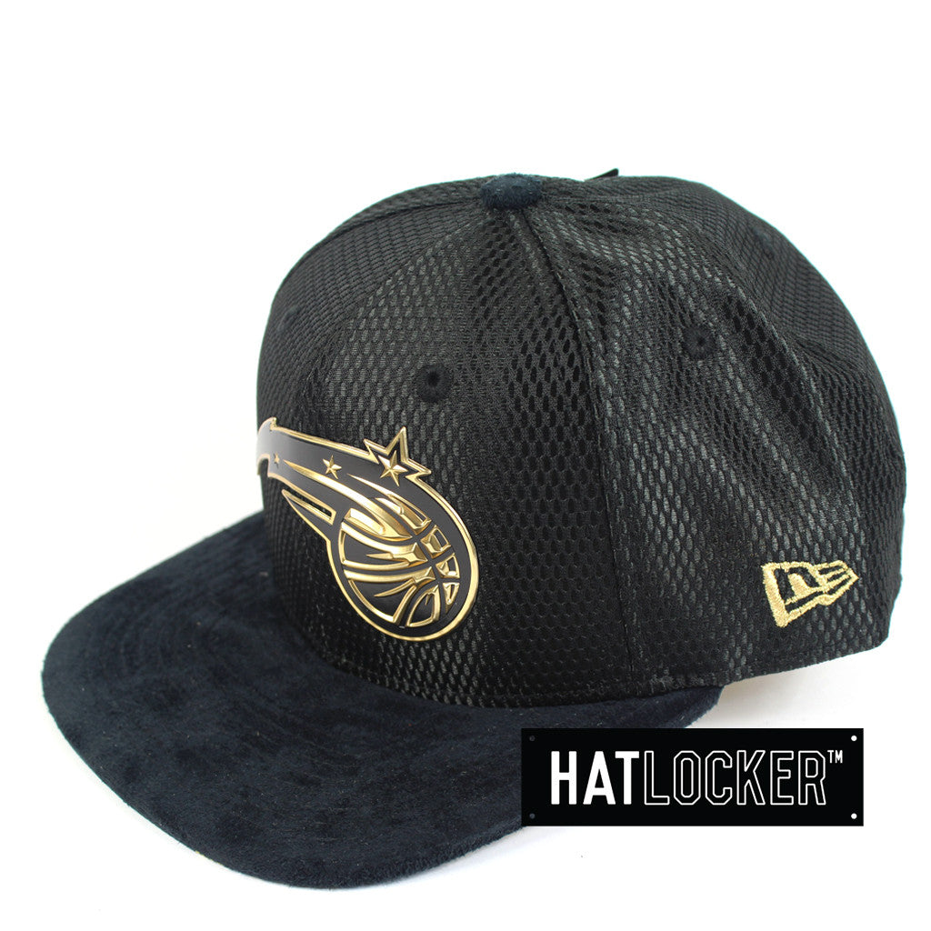 New Era - Orlando Magic On-Court Black Gold Snapback