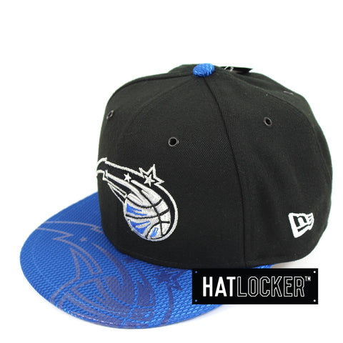 New Era Orlando Magic On-Court Emblem Collection Snapback Hat
