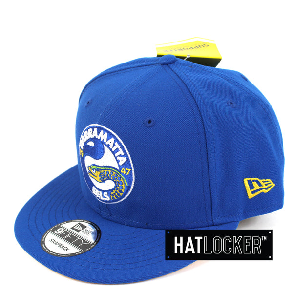 Hat Locker Australia New Era NRL Parramatta Eels Core Snapback Hat Side