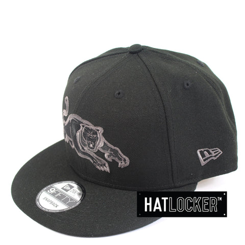 New Era Penrith Panthers Black Pop Snapback Cap