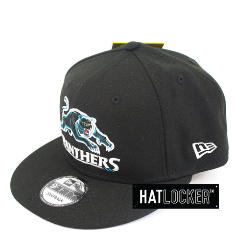 Hat Locker Australia New Era NRL Penrith Panthers Core Snapback Hat Side
