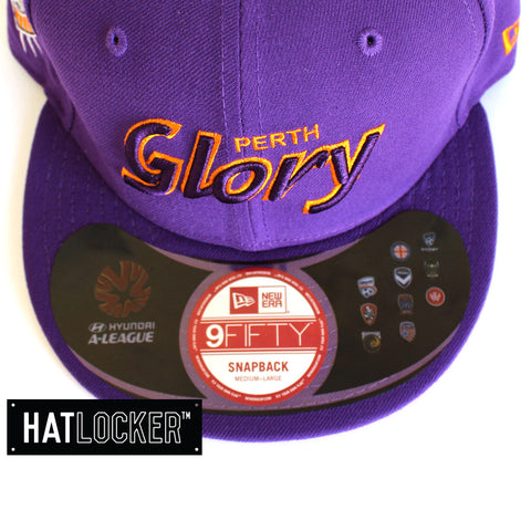 New Era - Perth Glory City Script Snapback