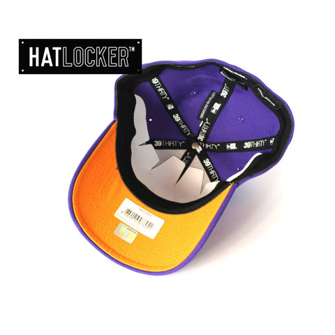 New Era - Perth Glory Curved Brim Purple Stretch Fit