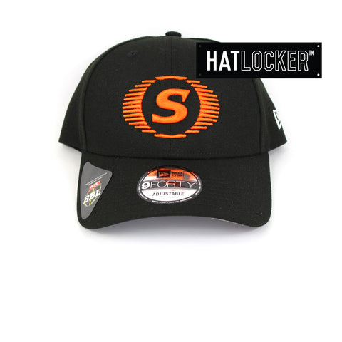 New Era Perth Scorchers BBL 08 Black Curved Brim Cap