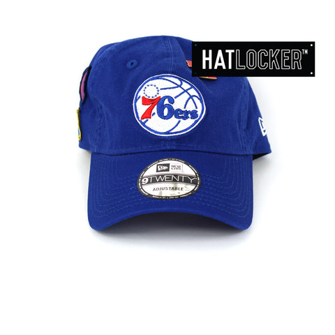 New Era Philadelphia 76ers 2018 NBA Draft Curved Brim Cap