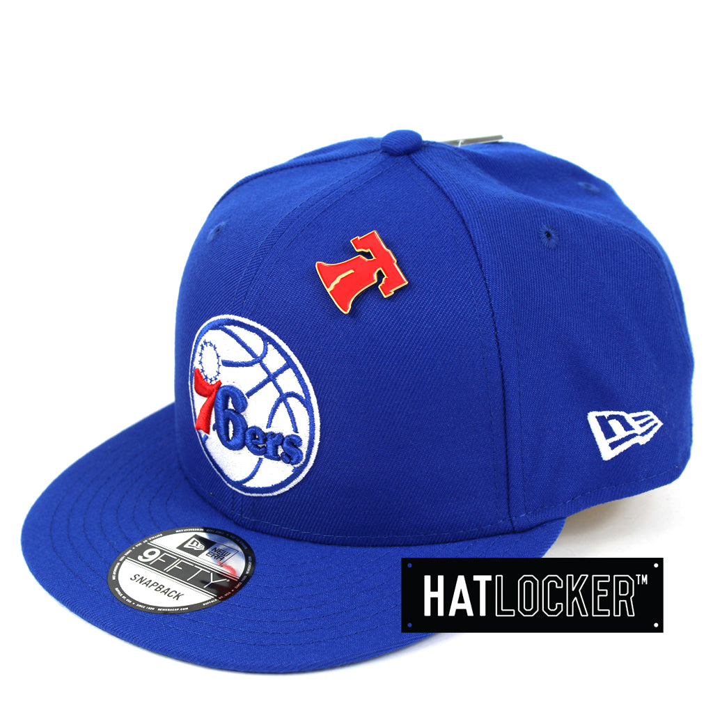 e08a2ffdf8b New Era Philadelphia 76ers 2018 NBA Draft Snapback Hat