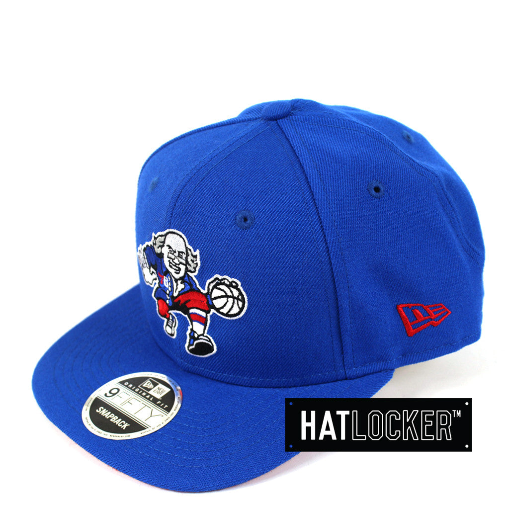 New Era - Philadelphia 76ers Royal Scarlet Mix Up Snapback