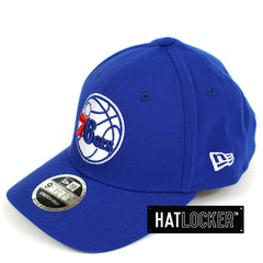 New Era Philadelphia 76ers Team Hit Precurved Snapback Hat