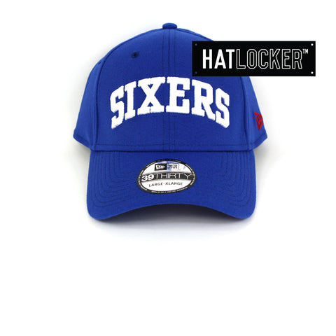 New Era Philadelphia 76ers Type Hype Curved Brim Cap