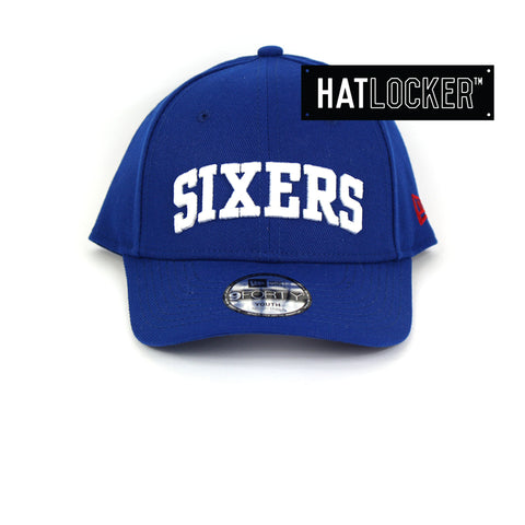 New Era Philadelphia 76ers Type Hype Youth Curved Brim Cap