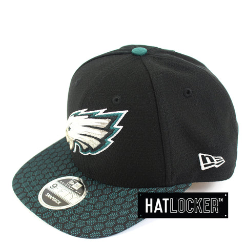 New Era - Philadelphia Eagles 2017 Official Sideline Snapback