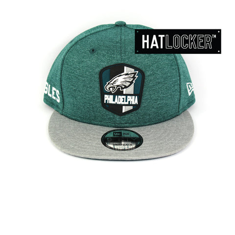 New Era Philadelphia Eagles 2018 Official Sideline Snapback Cap