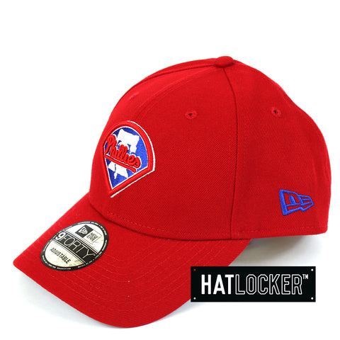 New Era Philadelphia Phillies Team Badge Curved Snapback Cap