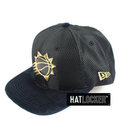 New Era - Phoenix Suns On-Court Black Gold Snapback