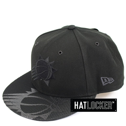 New Era Phoenix Suns On Court Black Collection Snapback Hat