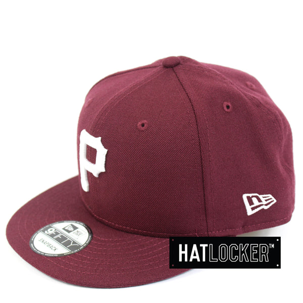 New Era Pittsburgh Pirates Maroon Mix Snapback Hat