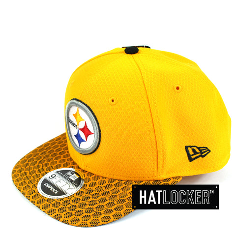 New Era - Pittsburgh Steelers 2017 Official Sideline Snapback