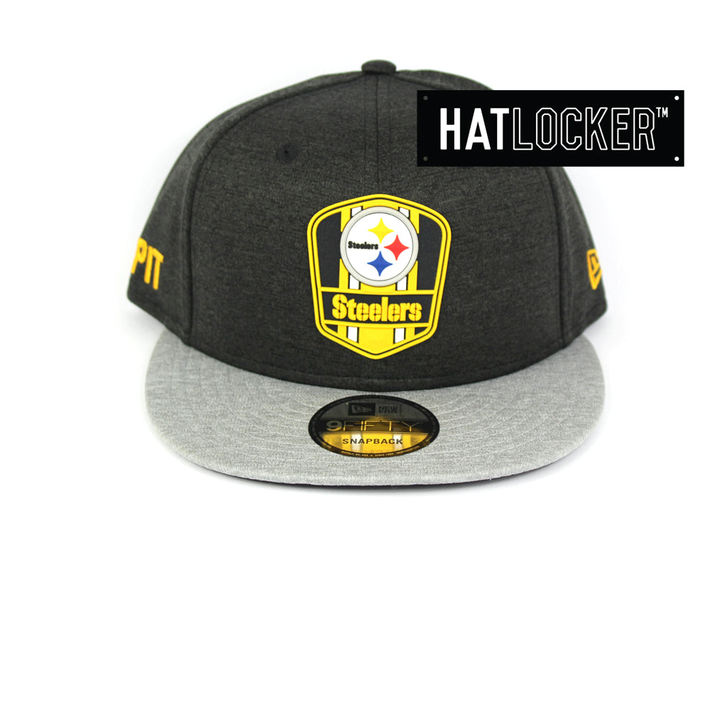 New Era Pittsburgh Steelers 2018 Official Sideline Snapback Cap
