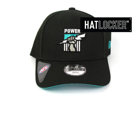 New Era Port Adelaide Power 2019 Core Kids Curved Brim