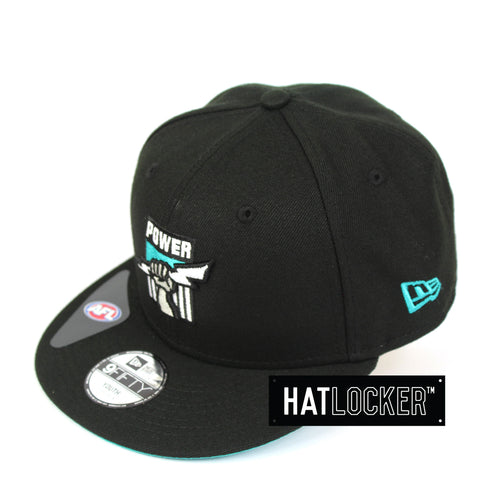 New Era Port Adelaide Power 2019 Core Kids Snapback Cap