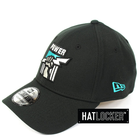 New Era Port Adelaide Power 2019 Core Curved Stretch Fit Cap