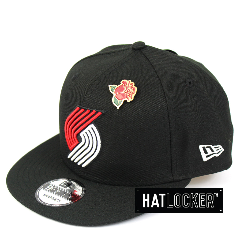 2d9f0f922a83d7 ... ireland new era portland trail blazers 2018 nba draft snapback hat  25365 6cdc3