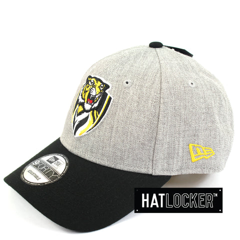 New Era Richmond Tigers Heather Curved Snapback Hat
