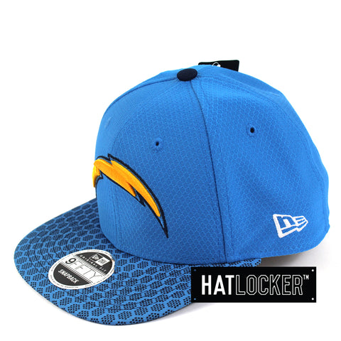 New Era - San Diego Chargers 2017 Official Sideline Snapback