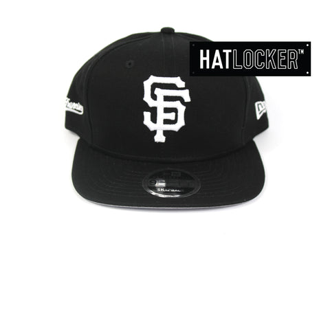 New Era San Francisco Giants Cotton Side Hit Snapback Cap