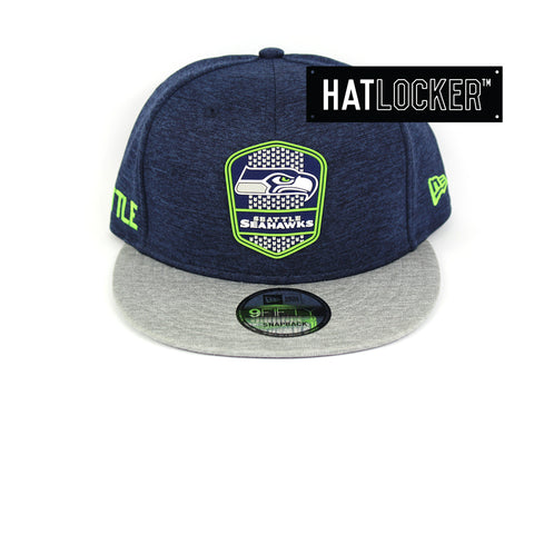 New Era Seattle Seahawks 2018 Official Sideline Snapback Cap