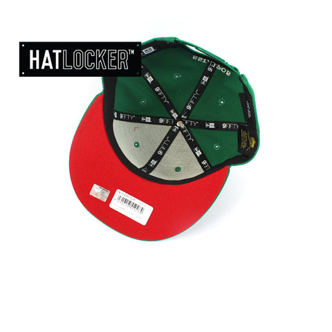 Hat Locker Australia New Era NRL South Sydney Rabbitohs Core Snapback Hat Under