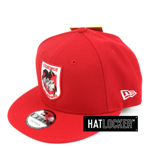 Hat Locker Australia New Era NRL St Georgia Illwarra Dragons Core Snapback Hat Side