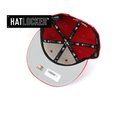 Hat Locker Australia New Era NRL St Georgia Illwarra Dragons Core Snapback Hat Under