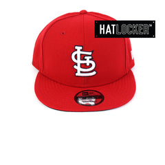 New Era - St Louis Cardinals Wordmark Scarlet Snapback