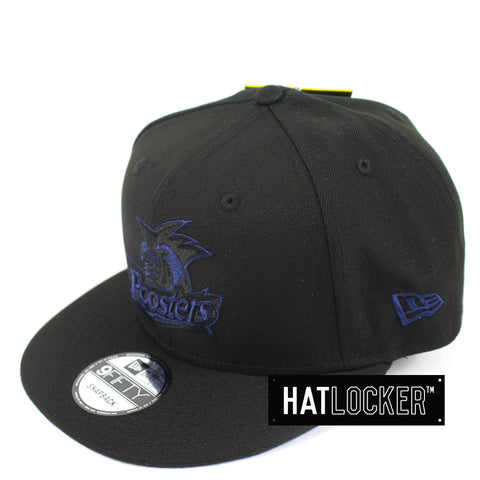 New Era Sydney Roosters Black Pop Snapback Cap