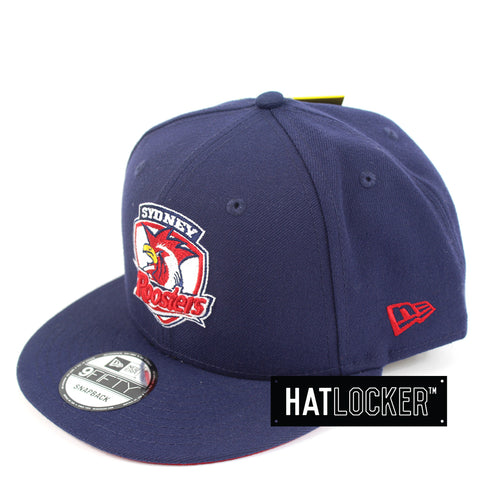 Hat Locker Australia New Era NRL Sydney Roosters Core Snapback Hat Side