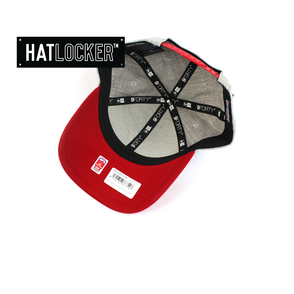 New Era Sydney Swans Heather Curved Snapback Hat