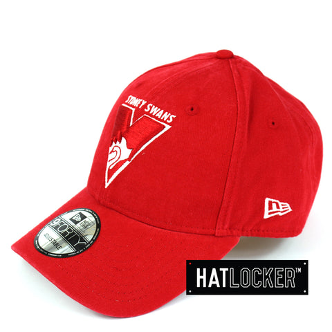 New Era Sydney Swans Winter Wash Curved Brim Cap