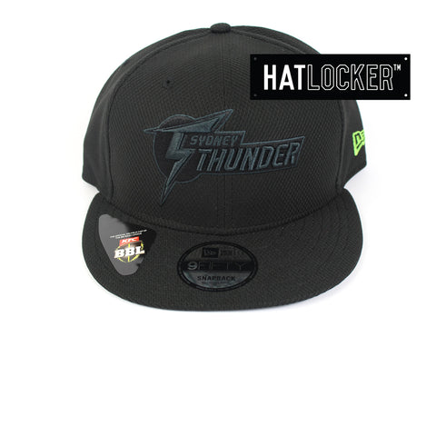 New Era - Sydney Thunder Post Game Black Snapback