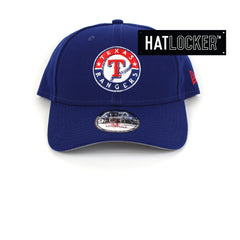 New Era Texas Rangers Team Badge Curved Snapback Cap