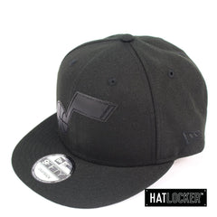 New Era Utah Jazz BH Series Black On Black Snapback Hat