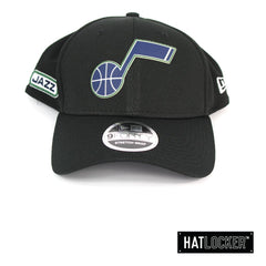 New Era Utah Jazz BH Series Black Stretch Snapback Cap