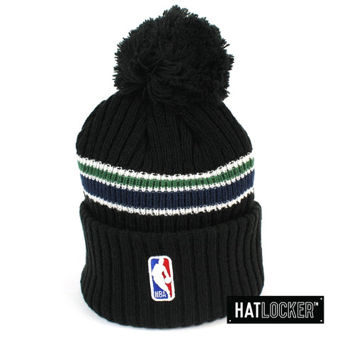 New Era Utah Jazz BH Series Black Pom Knit Beanie Australia